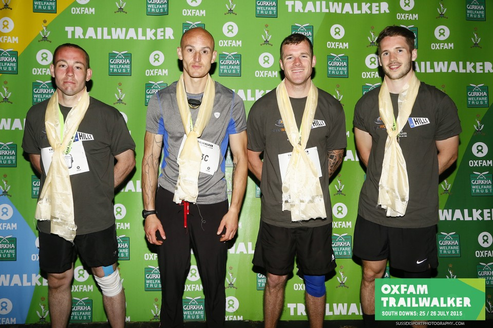 100km Trailwalker challenge for Oxfam, Gurkha Welfare Trust